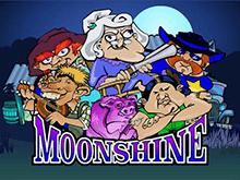 Игровой аппарат Moonshine - пусть фортуна будет на вашей стороне