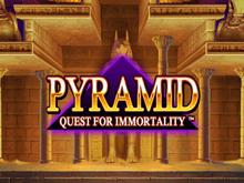 Автомат мобильного казино Пирамида: Поиски Бессмертия